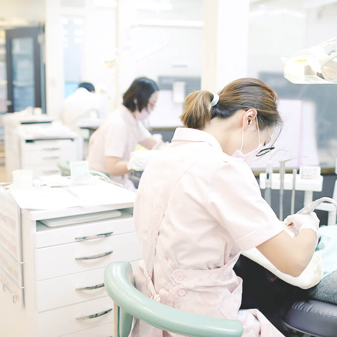 かわせ歯科のユニット